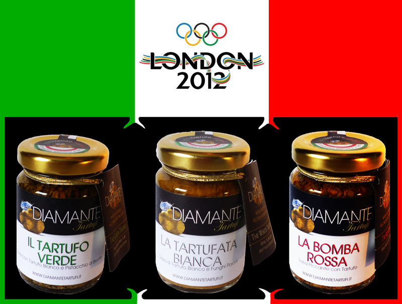 DIAMANTE TARTUFI GIOCHI OLIMPICI LONDRA - DIAMOND TRUFFLES OLYMPIC GAMES LONDON
