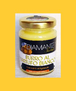 BURRO di MALGA al TARTUFO BIANCO 80 Gr (Naturale e Genuino) Made in Italy