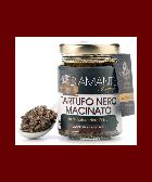 TARTUFO NERO MACINATO 80 Gr - Black Ground Truffle 100% 2,82 Oz (Tuber Aestivum, EVO Oil and Pink Salt) Naturale e Genuino